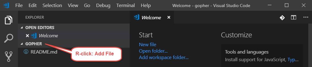 """""""VSCode Open Folder"""""""